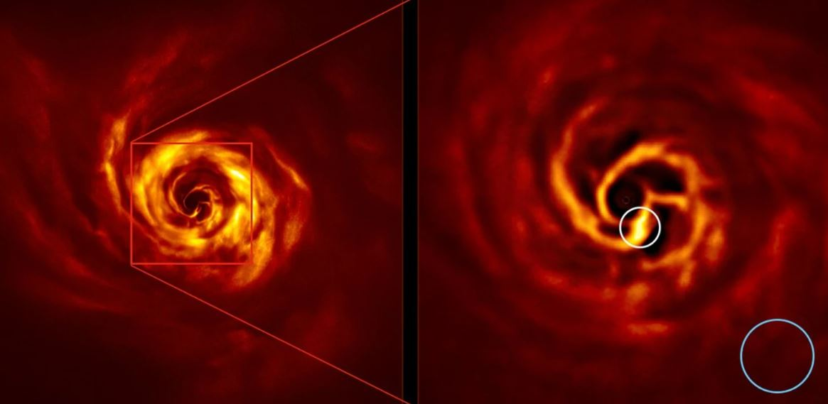 Scientists Capture Image Of Birth Of Planet For Very First Time