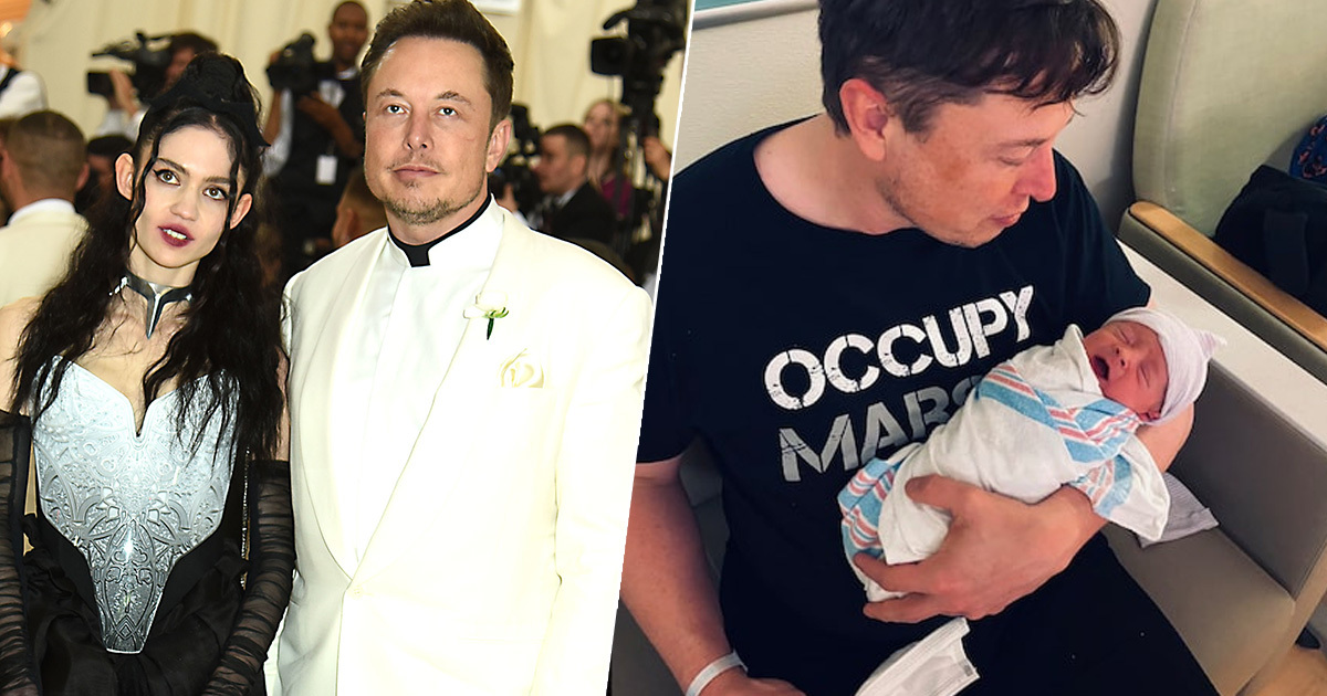 Elon Musk And Grimes Have Legally Named Their Baby X AE A-XII