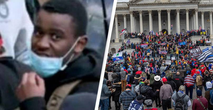 Black US Capitol Rioter Denied Bail Despite Many Others