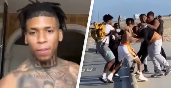 Rapper Defends Himself After Video Of Him Fighting Fan At Beach Hits Social Media