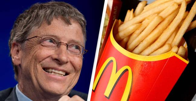 Bill Gates Is Secretly Behind McDonald's Amazing French Fries